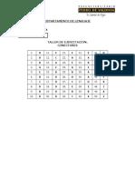 Claves Taller de Ejercitación LE N°01 (TLE 2)  Conectores 1