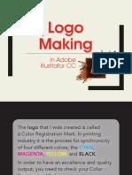 Logo Making in Adobe Illustrator CC
