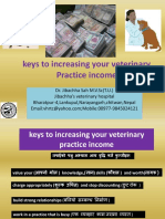 Keys to Increasing Your Veterinary Practice Income