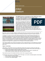 Case Study - Manchester United Old Trafford Stadium