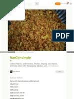 Cookpad Com Id Resep 2978977 Nasgor Simple