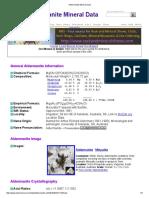 Aldermanite Mineral Data1