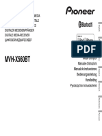 Mvh-x560bt Manual Nl en Fr de It Ru Es