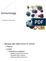 Humoral Immunology