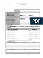 Quality Assurance Report (Documentation)_Water