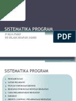 Sistematika Program Pmkp