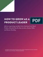 Grow as a Product Leader