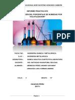 Informe Practica Nº2 Química Analítica Cuantitativa