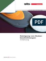 Broschuere Reinigung Von Bodenbeschichtungen Anleitung