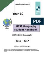 Y10 Student Handbook