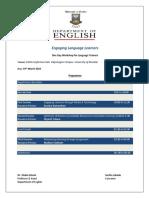 Workshop Schedule PDF