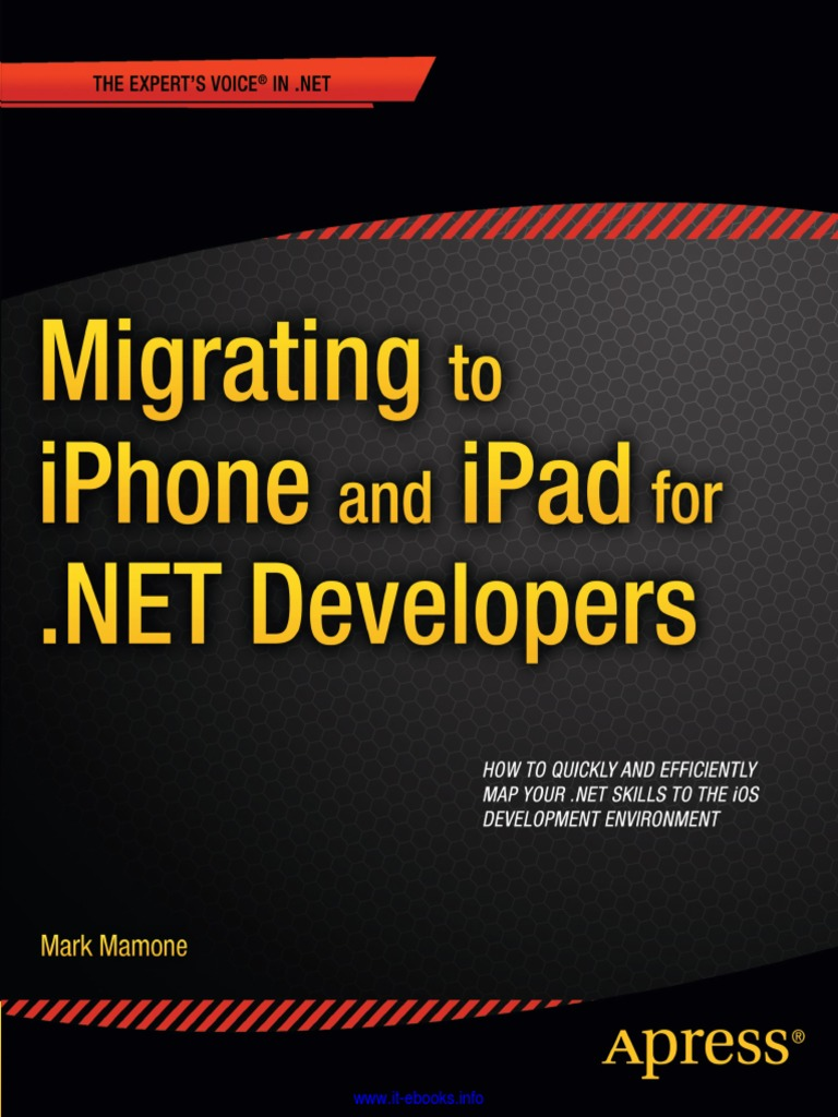 migrating_to_iphone_and_ipad_for_ net_developers pdf | Xcode | Ios