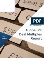 PitchBook 2017 Global PE Deal Multiples Report Part I