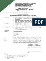 10 Contoh SK Pengangkatan Pengelolah Perpustakaan Terbaru Format Word.doc