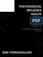 Phsychosocial Influence Health