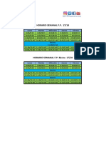 Horario Semanal FP 17 18
