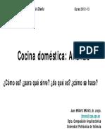 analisis cocina domestica