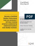 DevOps Foundation Course Catalogue