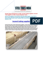 Inconel Tubing Suppliers.docx