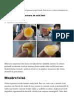 Alimentele Provenite Din China Care Ne Pun Viața În Pericol