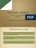 PPT Referat Afakia