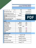 L-Footing Design Program
