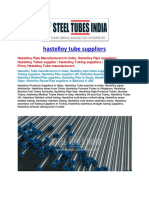 Hastelloy Tube Suppliers