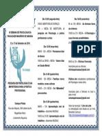 III Semana de Psicologia 2016 - Folder Net