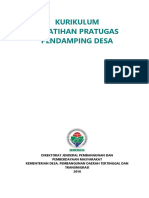 Kurikulum Pra Tugas PD & PDTI