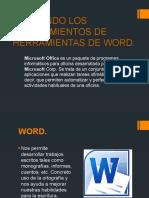 APLICANDO LOS CONOCIMIENTOS DE HERRAMIENTAS DE WORD.pptx