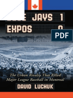 Blue Jays 1 Expos 0