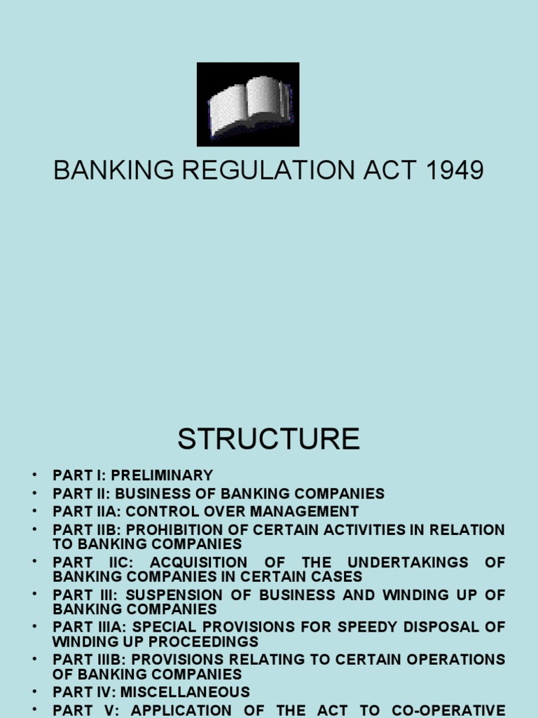 banking regulation act 1949 section 35a