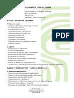 Contenidos y Criterios d Evaluación Septiembre 1º Bachillerato Matematicas i Ciencias (1)