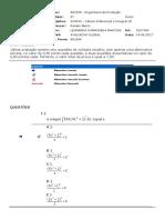 AVG - Cálculo Diferencial e Integral III