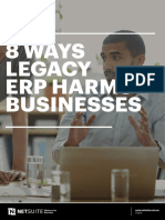 8 Ways Legacy ERP Harms Businesses