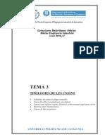TEMA 3 Tipologies Unions MUEI 2016-17
