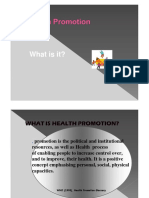 Health Promotion Concept-Inter