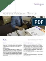 AddressChecker WSDL Guide
