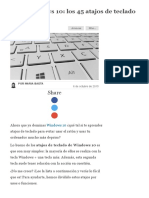 Guía Windows 10_ Los 45 Atajos de Teclado Más Útiles