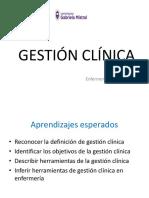 Clase Nº5 Gestión Clínica 2017