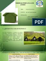 Exposicion Casas Ecologicas