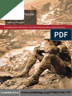 Cambridge Studies in International Relations John a. Vasquez the War Puzzle Revisited Cambridge University Press 2009