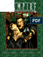 The Line of Caine - Vampire Geneology