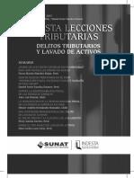 Delitos Tributarios y Lavado de Activos