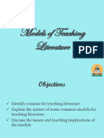 Models of Teaching Lit