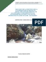 Informe Hidrologico -Yacusisa Olivos
