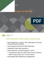SAP BW - Intro