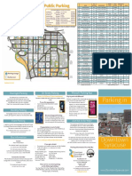 Downtown Syracuse Parking Brochure