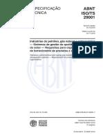 ABNT ISO -TS 29001-2010