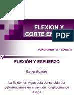 Flexion y Corte Vigas